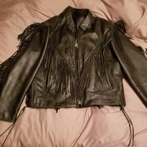 Jackets & Blazers - Genuine leather riding jacket